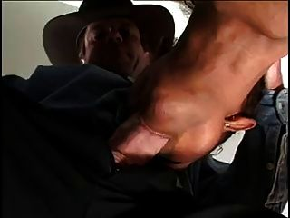 Hot Black Girl Takes White Cock Up The Ass