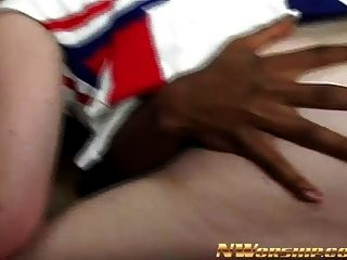 Little Redhead Teen Into Interracial Porn With A Black Dick