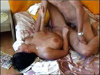 Latina Milf Fucks Boy Cl