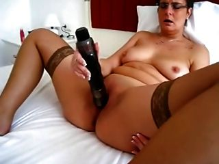 Granny & Her Huge Vibrator