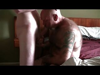 Young Escort Dominates Breeds White Bear Daddy