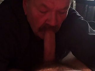 Old Guy Is A Perfect Cocksucker