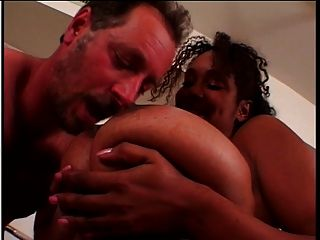 Ebony With Hooters Banged Hard