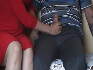 Kirsty Blue With Hungry Cock