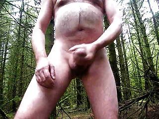 Another Naked Wank In The Woods