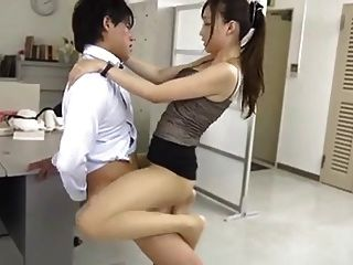 Japanese Fuck In Office
