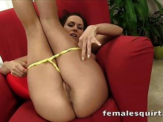 Gorgeous Mea Melone Toying With Her Pussy Until She Squirts
