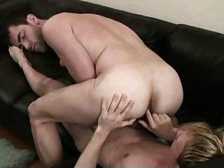 Two Hot Men Fucking Bareback Each Other.