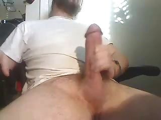 Huge Fat Cock Jerking