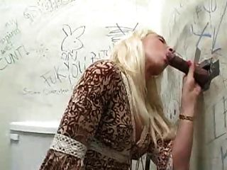 Fiona Cheeks Gets Bbc At The Gloryhole