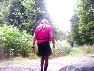 Wanking In The Woods For A Few Weeks