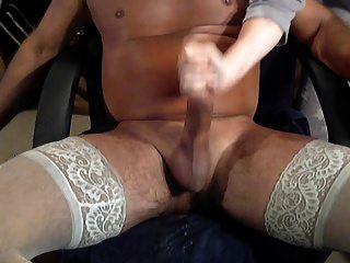 Cum In Stockings