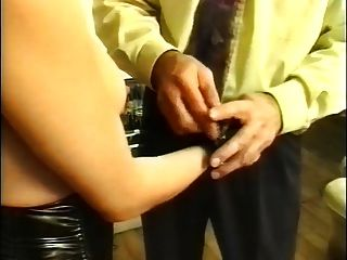 Two French Slaves Dominated By Two Masters Part4