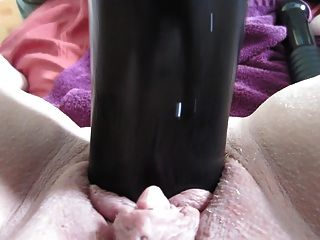 Fucking Myself With My Big Black Dildo