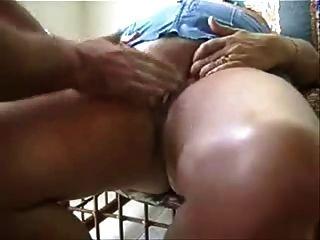 Fingering My Old Bitch Untill She Had Orgasm