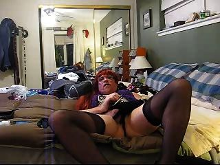 Sexy Smoking Crossdressing Slut