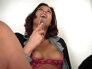 Slutty Brunette Needs It All The Time