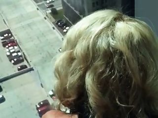 Fucking His Wife In The High Floor Of Building