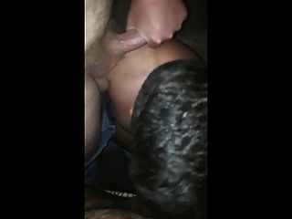 Bottom Swallows Two Huge Loads Of Bear Cum
