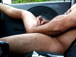Daddy In Car