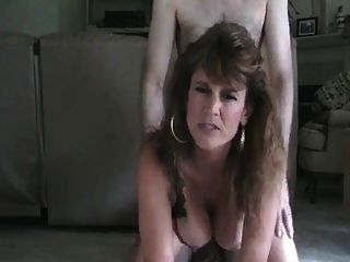 Hot Mature Cougar Smoking Doggy And Assbanged