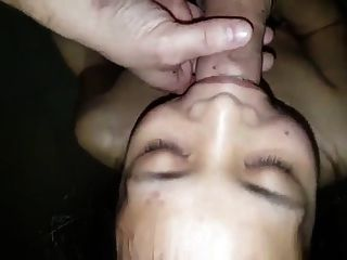 Chinese Gf Receives Cum In Mouth