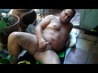 Jerk Off On The Porch