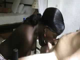Inexperience Ebony Girl Sucking Cock. Enjoy