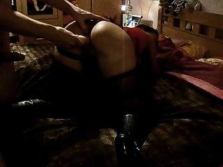 Big Ass Slut Doing The Anal