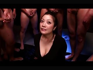 Minako Komukai - First Bukkake