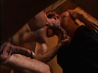 Hunky Guy Gets His Ass Cock Pounded