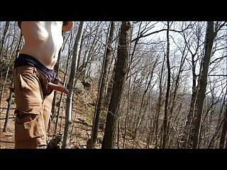 Jackoff Hike: Cum In The Woods 1