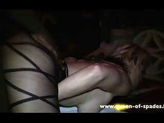 Queen Of Spades Gets Fucked By A Bbc In A Swinger Club