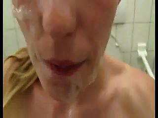 Naked And Face-jizzed In Public