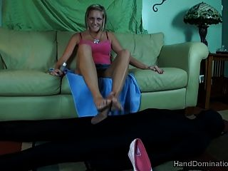 The Most Wicked Femdom Footjob And Beautiful Feet