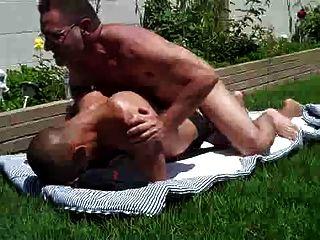 Daddy Fcks Boy Outside