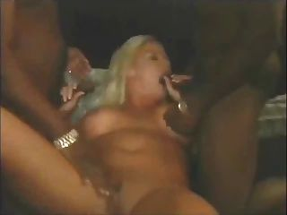 Milf Alyssa Charles Vs 2 Big Black Cocks