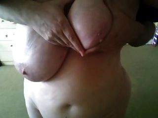 Hubby Playing With My Oily Boobs