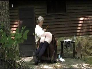 Amish Spanking