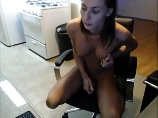 Grace Masturbate Her Cock And Ass
