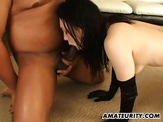 Amateur Teen Girlfriend Interracial Gangbang With Anal