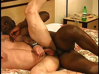 Black Daddy Fucks White Daddy Bareback!!!