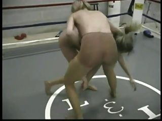 Retro Pantyhose Wrestling