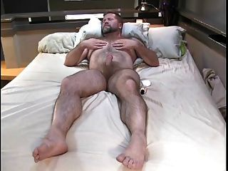 Daddy Bear Masturbating