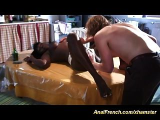 Anal French With Chocolade Babe