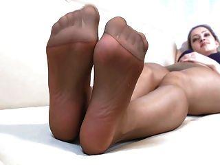 Let Me Cum On Those Feet!
