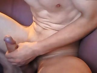Big Thick Uncut Cock Shaved Balls Big Cumshot On Chest