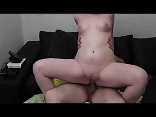 Chubby Girl Gets Assfucked And Creampied