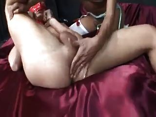 Tranny Domme With Man