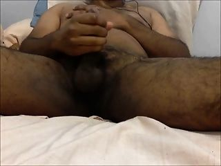 Hairy Uncut Indian - Breathing Balls